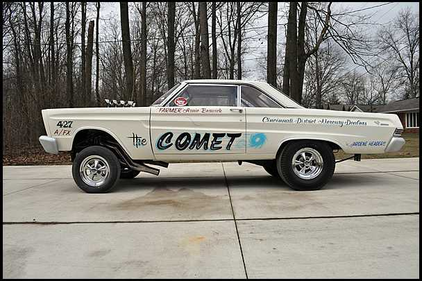 Arnie Beswick's injected 427 SOHC Comet to be auctioned
